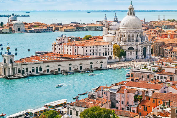 Venice with Santa Maria Della Salute Church, Italy (Photo: Mariia Golovianko/Shutterstock)
