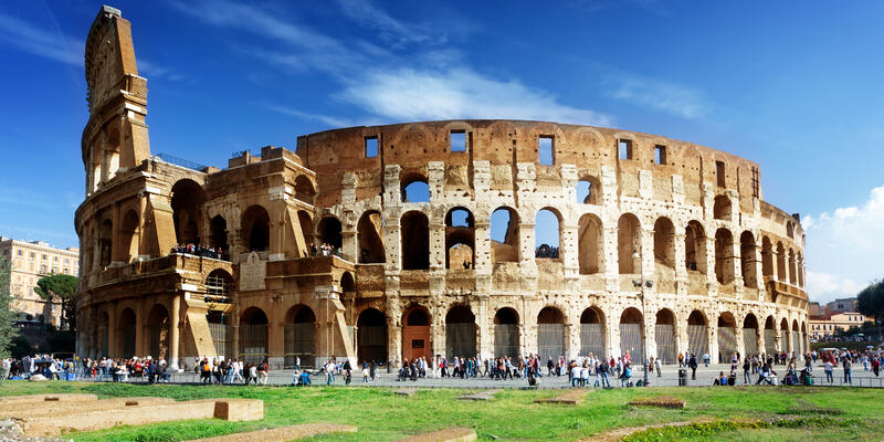 Colosseum in Rome, Italy (Photo: ESB Professional/Shutterstock)