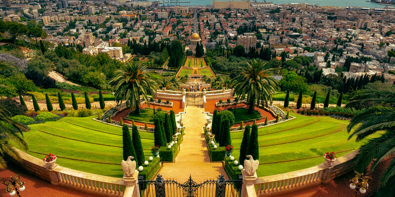 Hanging Gardens of Haifa (Photo: snapshopped/Shutterstock)