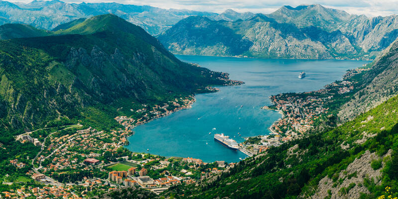 Bay of Kotor from the Top (Photo: nadtochiy/Shutterstock)
