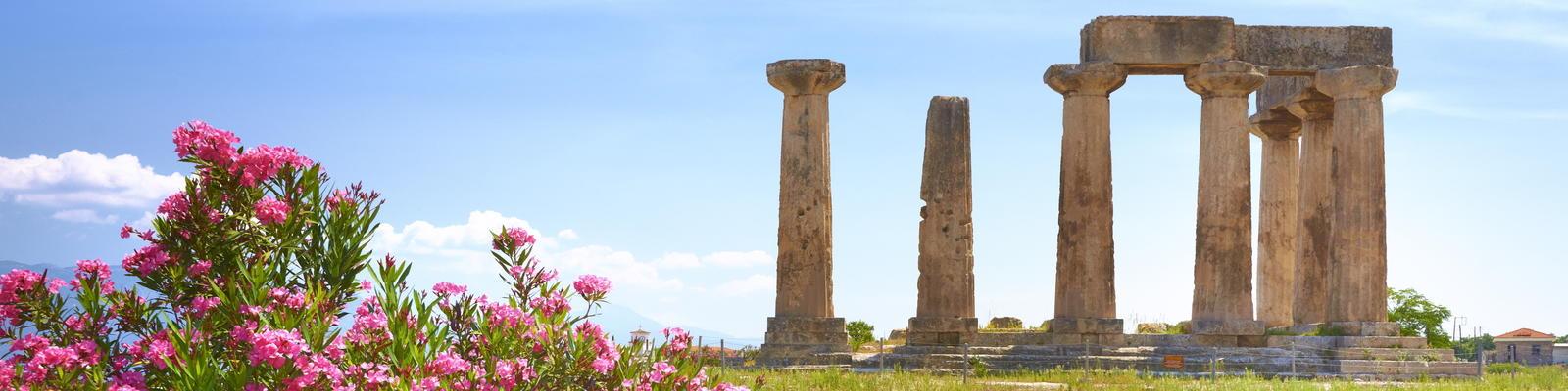 Ruins of the Temple of Apollo, Corinth, Peloponnese, Greece (Photo: John_Walker/Shutterstock)