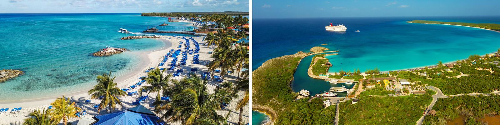 Princess Cays vs. Half Moon Cay (Photo: GGAM/Shutterstock/Carnival Cruise Line)