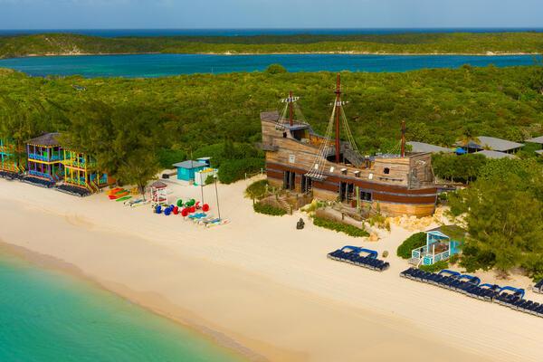 Half Moon Cay Cabanas (Photo: Carnival Cruise Line)