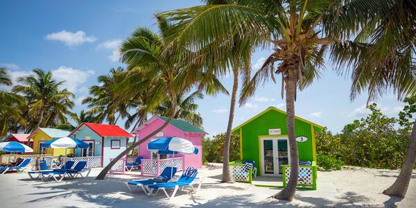 Princess Cays Cabanas (Photo: Princess Cruises)
