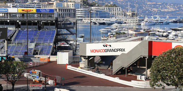 Photograph: Preparations for the Monaco Grand Prix 2015. - Photography credit:  Semmick Photo / Shutterstock.com