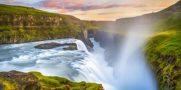 Gullfoss Waterfall, Iceland (Photo: Chris Dolby Imaging/Shutterstock)