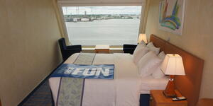 Photograph: Outside cabini on Carnival Sunrise - Photo by Erica Silverstein/Cruise Critic Editor
