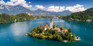 Lake Bled and the Church of the Assumption (Photo: Istvan Csak/Shutterstock)