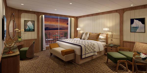 Signature Suite Bedroom (Photo: Seabourn Cruise Line)