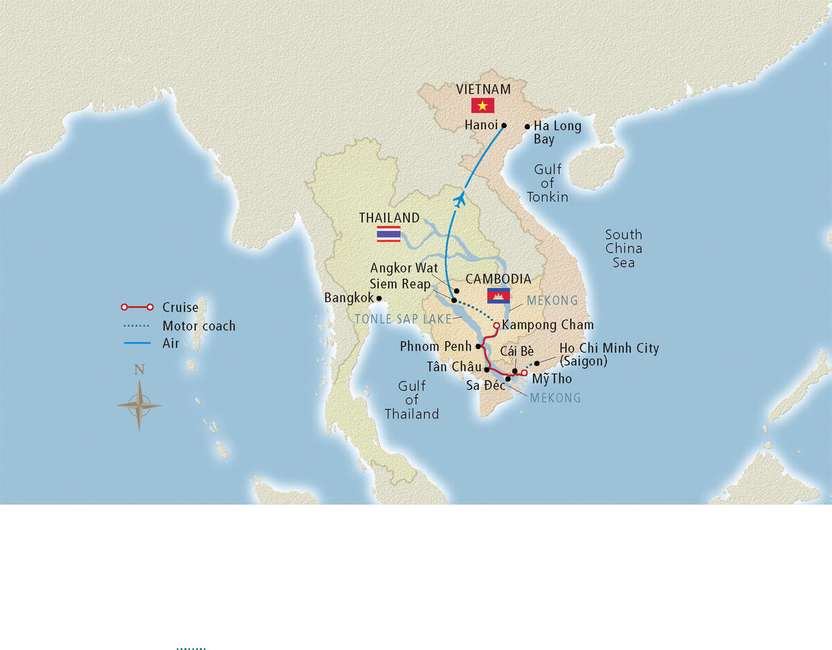 Mekong River Cruise Map - Cruise Critic on vietnam and china map, vietnam china war 2009, vietnam china south china sea, china sea map, vietnam china oil rig, vietnam and thailand, vietnam china korea and taiwan, vietnam china war map, china and east asia map, vietnam and china border dispute, vietnam china war 1984, vietnam china history, china beach vietnam map, nanning china map, south korea border map, vietnam postcards saigon, vietnam flag and emblem, vietnam by sea, vietnam near china border,
