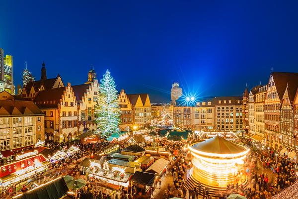Christmas market in Frankfurt, Germany (Photo: S.Borisov/Shuterstock)