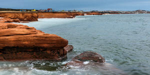 Red Cliffs on Cape-aux-Meules Island, Quebec, Canada (Photo: Richard Cavalleri/Shutterstock)