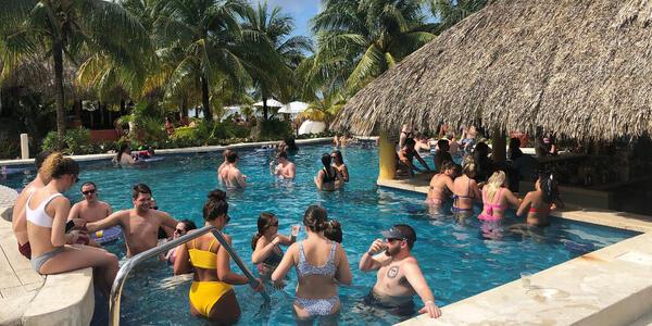 Mr. Sancho's Swim-Up Bar (Photo: Chris Gray Faust/Cruise Critic)