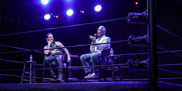 WWE Cruise: Chris Jericho's Rock N Wrestling Rager At Sea Panel (Photo: Will Byington Photography)
