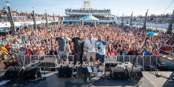 Impractical Jokers Cruise (Photo: Will Byington Photography)