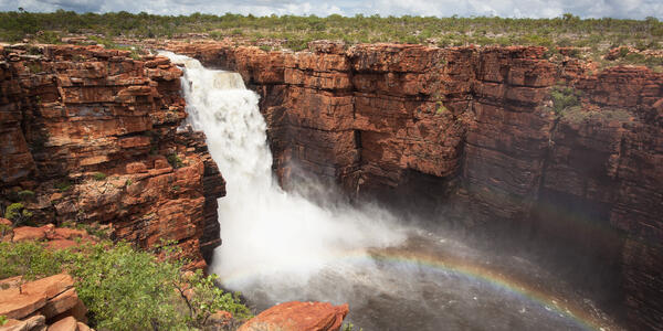 King George Falls (Photo: Philip Schubert/Shutterstock)