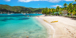 Beautiful Beach of Bequia, St Vincent and the Grenadines (Photo: NAPA/Shutterstock)