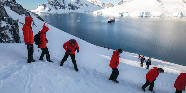 Passengers Exploring Antarctica (Photo: Silversea Cruises)