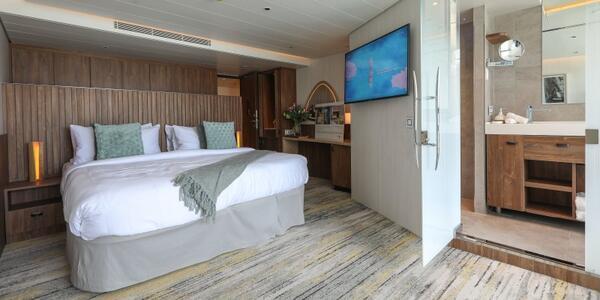 Flora Sky Suite with Infinite Veranda Interior (Photo: Adam Coulter/Cruise Critic)