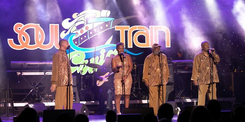 Image: Live performance on the Soul Train Cruise - Photo courtesy of The Soul Train Cruise