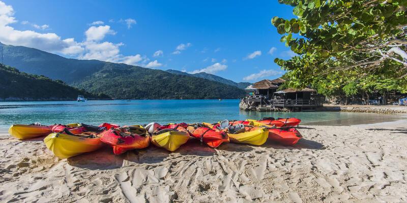 Kayaking on Labadee (Photo: Royal Caribbean International)