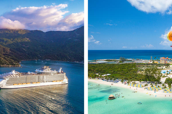 Labadee vs  CocoCay: Royal Caribbean's Private Islands