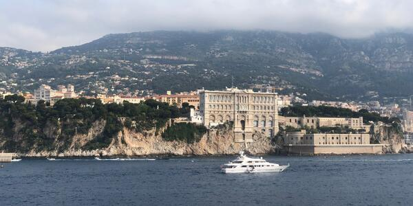 Yacht arriving for the Monaco Grand Prix (Photo: Chris Gray Faust/Cruise Critic)