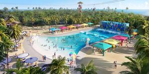 CocoCay Thrill Waterpark Cabanas (Photo: Royal Caribbean International)