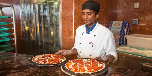 Pizza Pirate on Carnival Conquest (Photo: Cruise Critic)