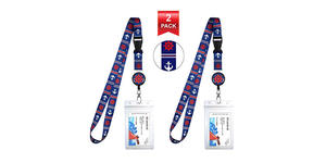 Blue and Red Anchor Helm Lanyards (Photo: Amazon)