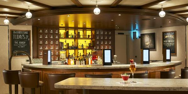 Carnival Horizon's Alchemy Bar (Photo: Carnival Cruise Line)