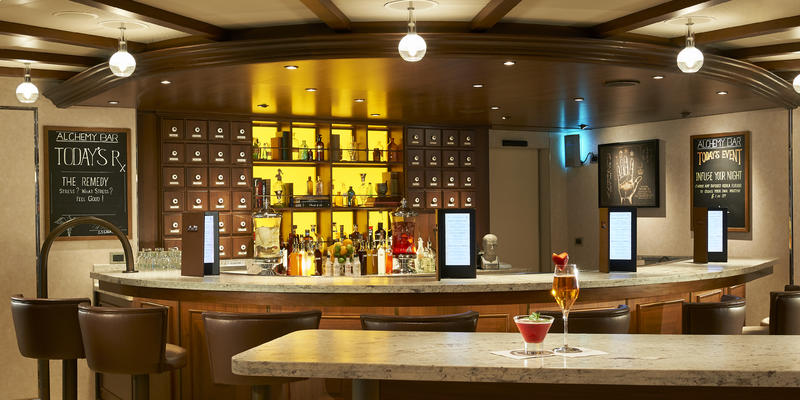 Carnival Horizon's Alchemy Bar (Photo: Carnival Cruise Line)