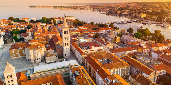 Historic Center of the Croatian Town of Zadar at the Mediterranean Sea, Europe (Photo: 27studio/Shutterstock)