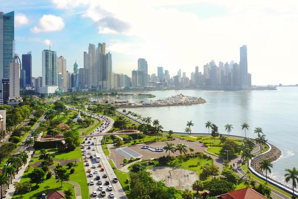 Aerial View of the Modern Skyline of Panama City, Panama (Photo: Gualberto Becerra/Shutterstock)