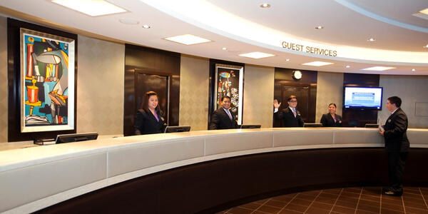 Guest Services on Norwegian Getaway (Photo: Cruise Critic)