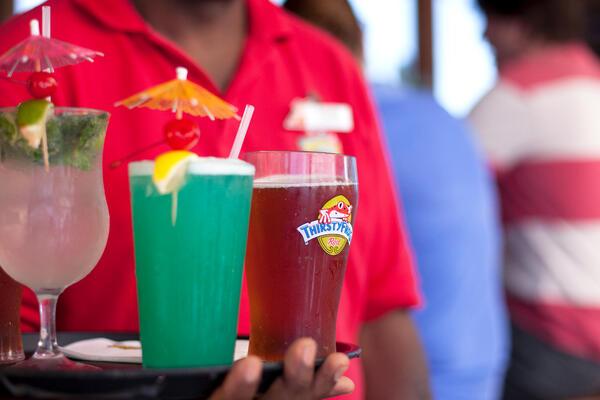 Server on board Carnival (Photo: Carnival)