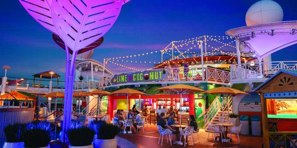 Lime and Coconut on Navigator of the Seas (Photo: Royal Caribbean International)