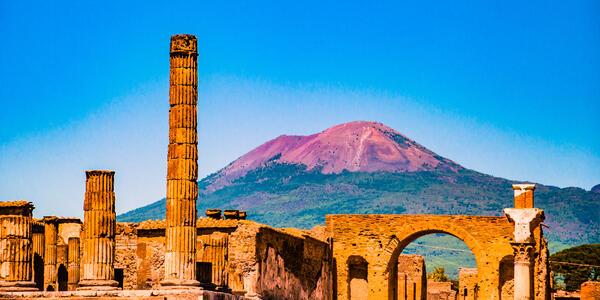 Image: Ruins of Pompeii, near Naples, Italy (Photo: Romas_Photo/Shutterstock)