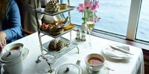 Tea on Queen Elizabeth (Photo: Christina Janansky/Cruise Critic)