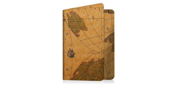 RFID Map Print Passport Holder Wallet (Photo: Amazon)