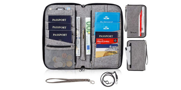 RFID Travel Document Organizer (Photo: Amazon)