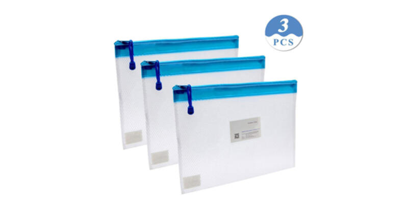 Water-Resistant Zip-Top Document Storage Bags (Photo: Amazon)