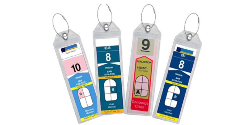Waterproof Cruise Luggage Tag Holders (Photo: Amazon)