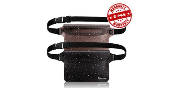 Waterproof Waist Packs (Photo: Amazon)