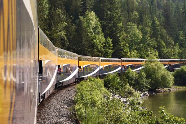 View from the Rocky Mountaineer Train (Photo: Christina Janansky/Cruise Critic)