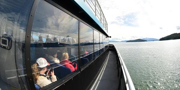 The View From the Ferry (Photo: Christina Janansky/Cruise Critic)