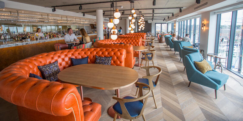 The HarBar at the Harbour Hotel & Spa (Photo: Adam Coulter/Cruise Critic)