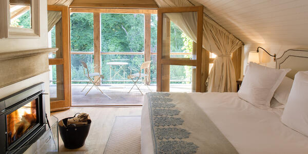Lime Wood Hotel & Spa Bedroom (Photo: Kerry Spencer/Cruise Critic)