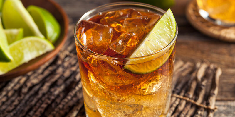 Dark 'n' Stormy Cocktail (Photo: Brent Hofacker/Shutterstock)