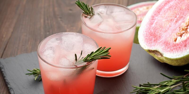 Guava Cocktail (Photo: Olga Dubravina/Shutterstock)